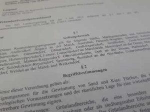 §1 regionales Raumordnungsprogramm Wien Umland Nordost
